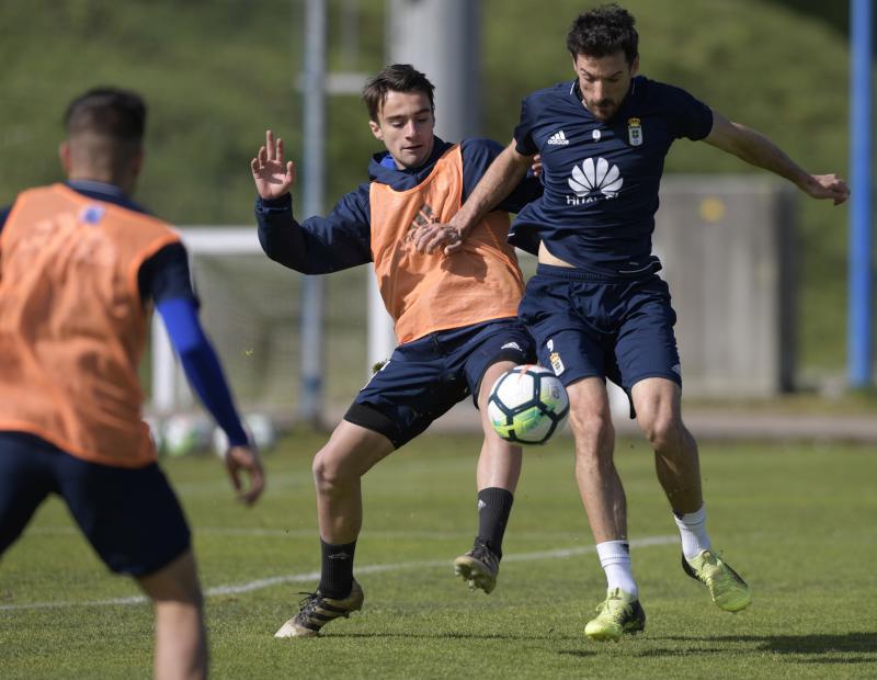 Entrenamiento del Real Oviedo (6/03/18)