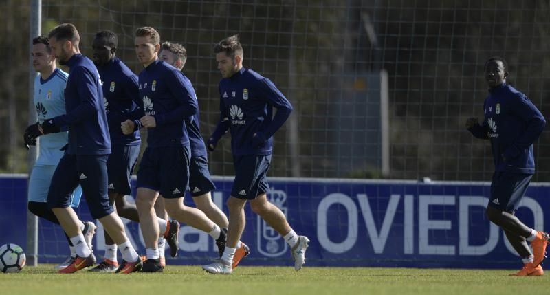 Entrenamiento del Real Oviedo (07/03/18)