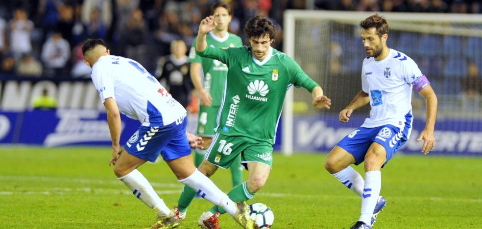 Real Oviedo | Fabbrini irrumpe entre el atasco azul
