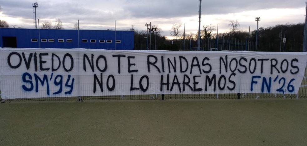 La afición del Real Oviedo no se rinde