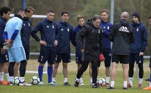 Anquela apuesta por Steven para el ataque del Real Oviedo