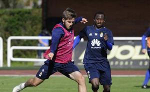 Pucko sustituye a Yeboah para el duelo ante el Nástic