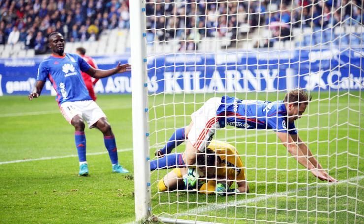 Real Oviedo 1-0 Nástic, en imágenes