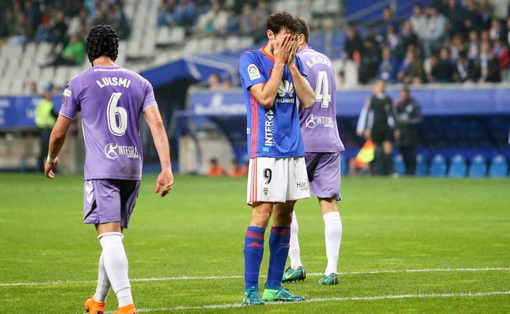 El Real Oviedo-Valladolid (1-2), en imágenes