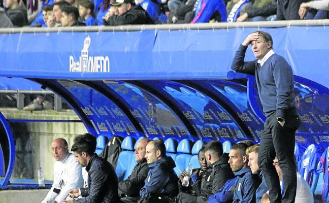 Real Oviedo | «Ha sido nuestro peor partido de todo el año», lamenta Anquela