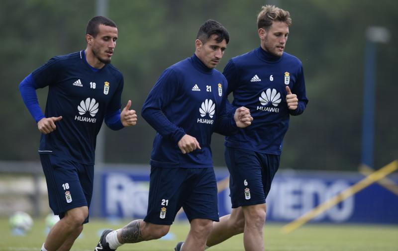 Entrenamiento del Real Oviedo (24/04/18)