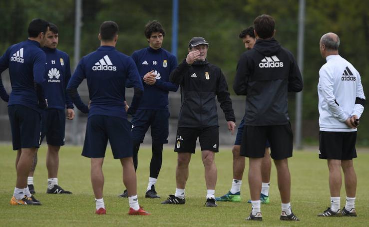 Entrenamiento del Real Oviedo (26-04-2018)