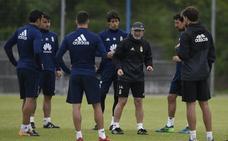 El Real Oviedo afina su puntería para Soria en el ensayo ante los juveniles