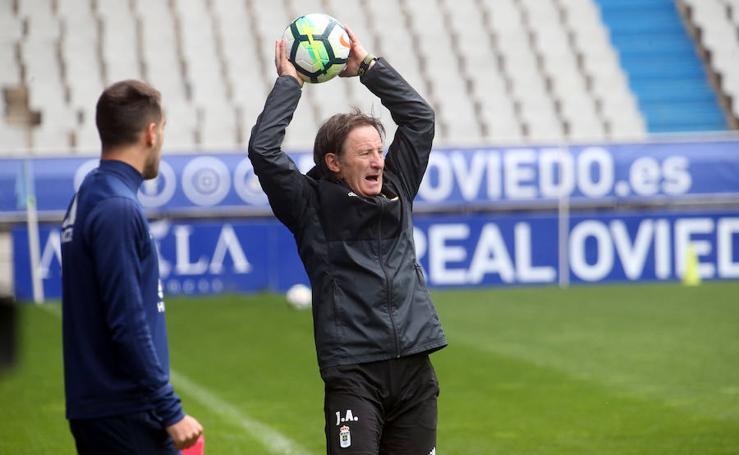 Entrenamiento Real Oviedo (28-04-2018)
