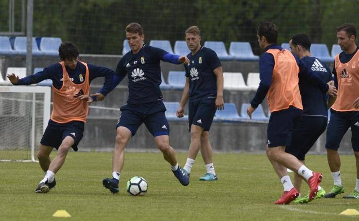 Entrenamiento Real Oviedo (09-05-2018)