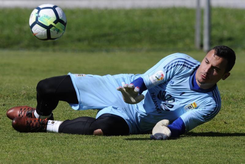 Entrenamiento del Real Oviedo (15-09)