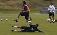 Entrenamiento del Real Oviedo (16-05-2018)