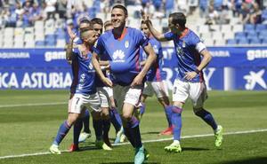 Real Oviedo | El sueño azul sigue vivo con sufrimiento
