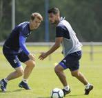 Entrenamiento del Real Oviedo (23/05/18)