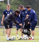 Entrenamiento del Real Oviedo (25-05-2018)