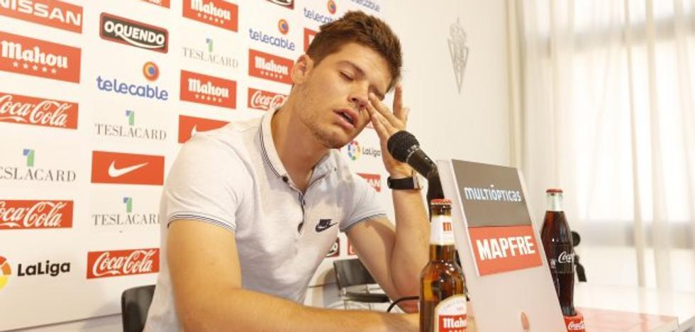 Meré se despide del Sporting entre lágrimas y su destino apunta a Málaga