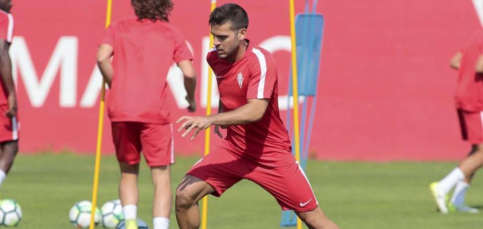 SPORTING | Víctor Rodríguez: «Pensar ahora en el ascenso sería un error»