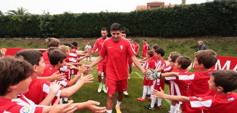 Sporting | El primer examen del 'profe' Herrera