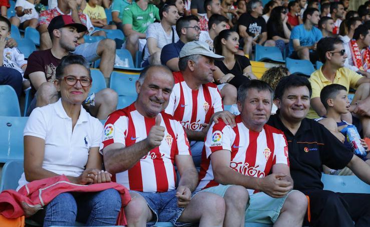 El partido del Sporting - Guijuelo en imágenes