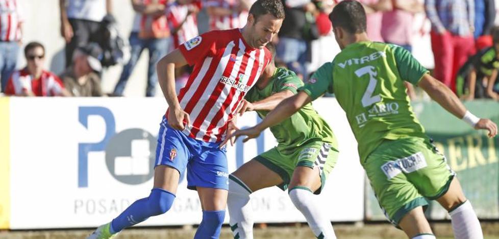 El Sporting empata en Miramar ante el Racing (Sporting 1 - 1 Racing)
