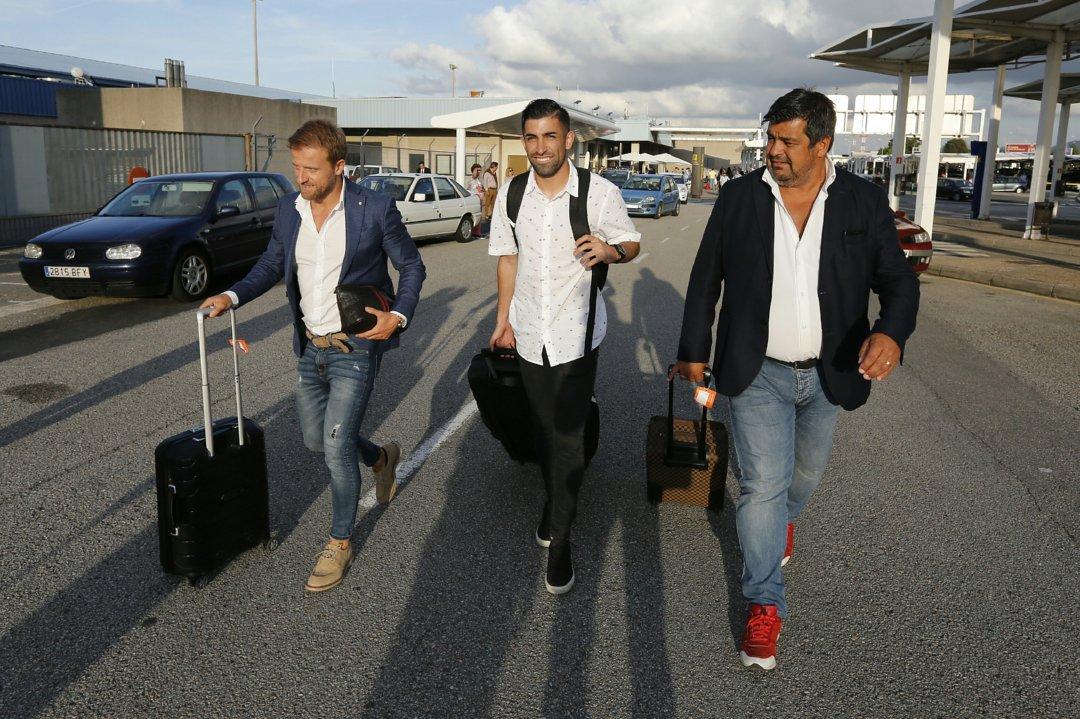 Michael Santos llega a Asturias para sumarse al Sporting