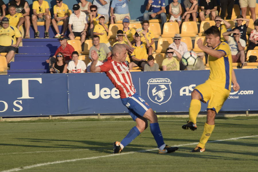 El Alcorcón 0-0 Sporting, en imágenes