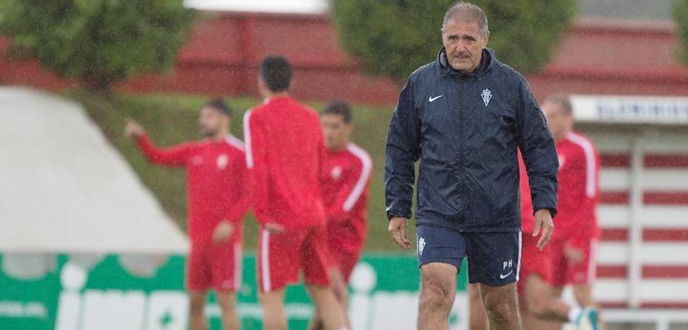 Sporting | Paco Herrera: «Ahora mismo Carmona es el jugador perfecto para nosotros»