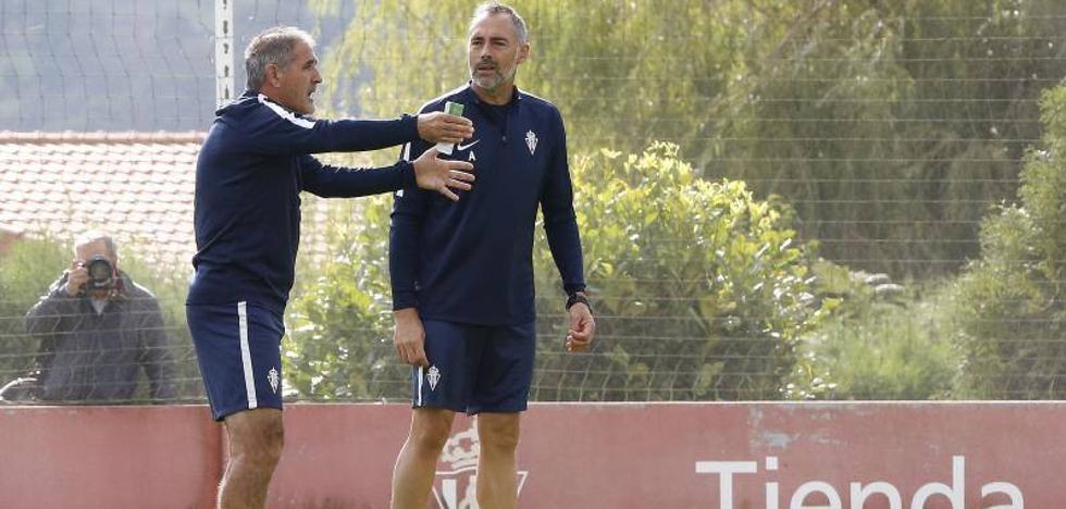 Real Sporting | Herrera: «Entiendo que el partido de Soria nos haya dejado tocados, pero al final lo vamos a conseguir»