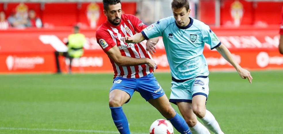 El Sporting se vuelve a estrellar ante el Numancia