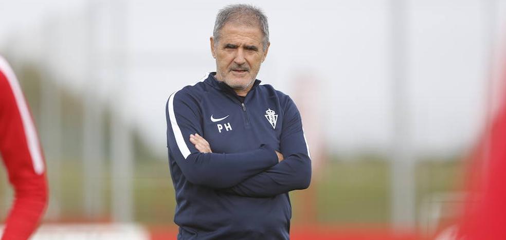 Sporting | Herrera no desvela la duda de la portería