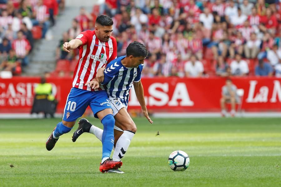 Sporting 1 - 0 Lorca, en imágenes