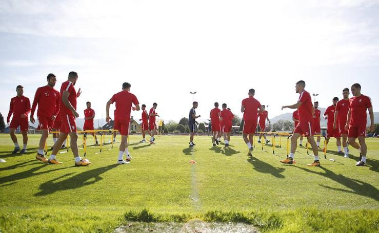 Entrenamiento del Sporting (28/09/17)