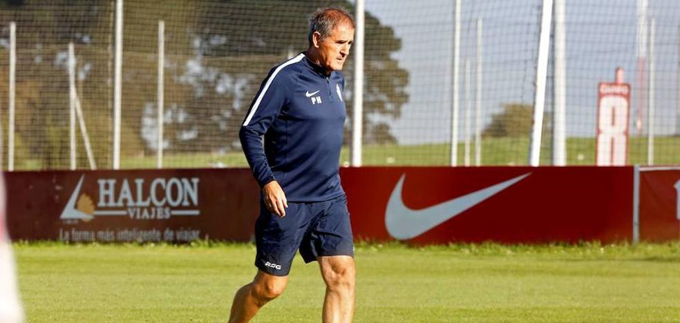 Sporting | Paco Herrera: «Mi ambición a que guste el equipo me lleva a hacer cambios»