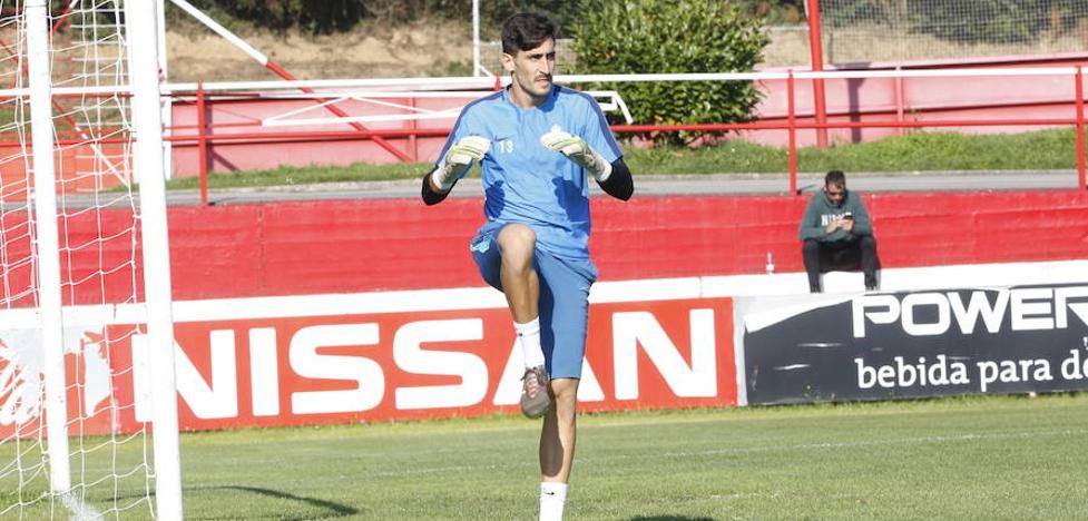 Sporting | Mariño: «Estar arriba y ganar partidos pasa por mantener la seguridad defensiva»