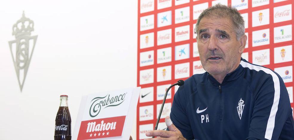 Paco Herrera: «Este Sporting tiene una voluntad de hierro»