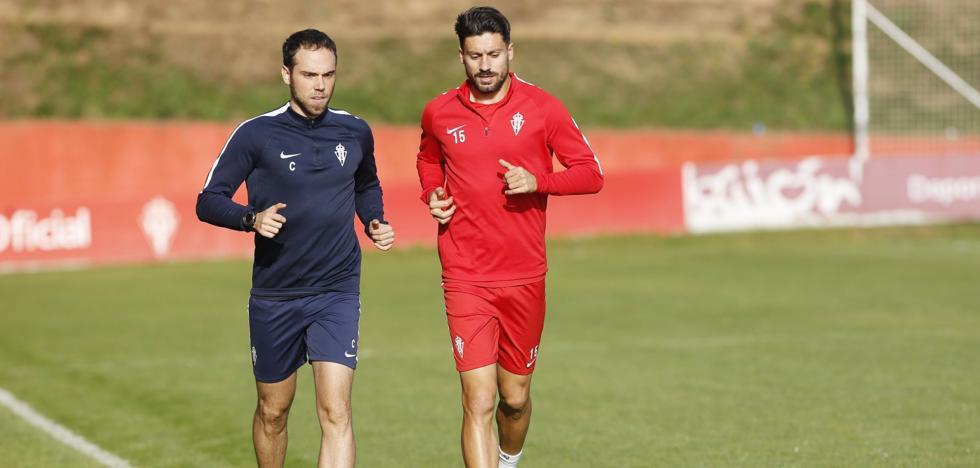 Canella apura su recuperación para llegar al partido ante el Rayo Vallecano