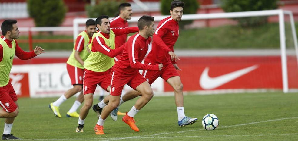 Sporting   Canella vuelve a los entrenamientos