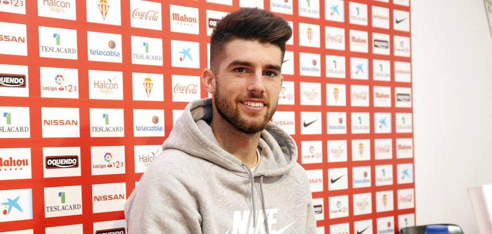 «El Sporting es más de lo que me esperaba», reconoce Jordi Calavera