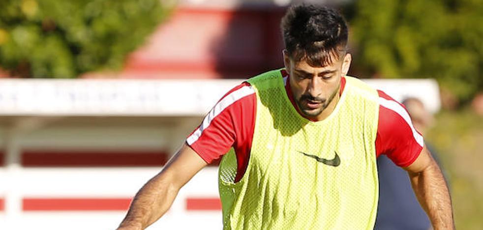 Sporting | Álex Pérez: «Cualquier partido en casa nos viene bien»