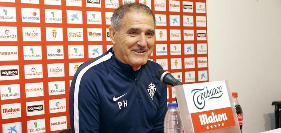 Real Sporting | Paco Herrera: «Stefan tiene muchas opciones de jugar»
