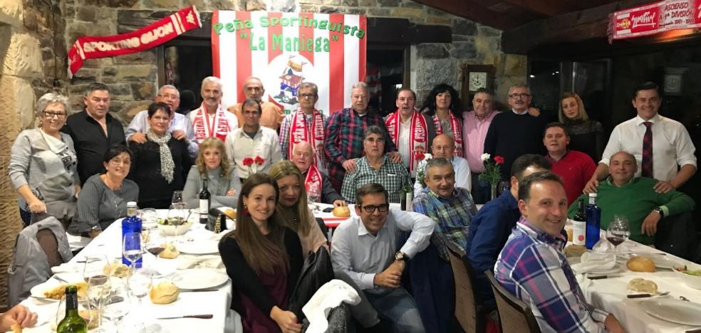 La Peña La Maniega celebra su aniversario