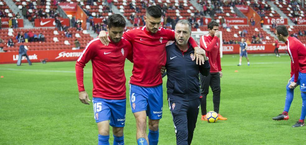 Sporting | Herrera comienza a preparar mañana el partido frente al Cádiz con la duda sobre el sustituto de Sergio