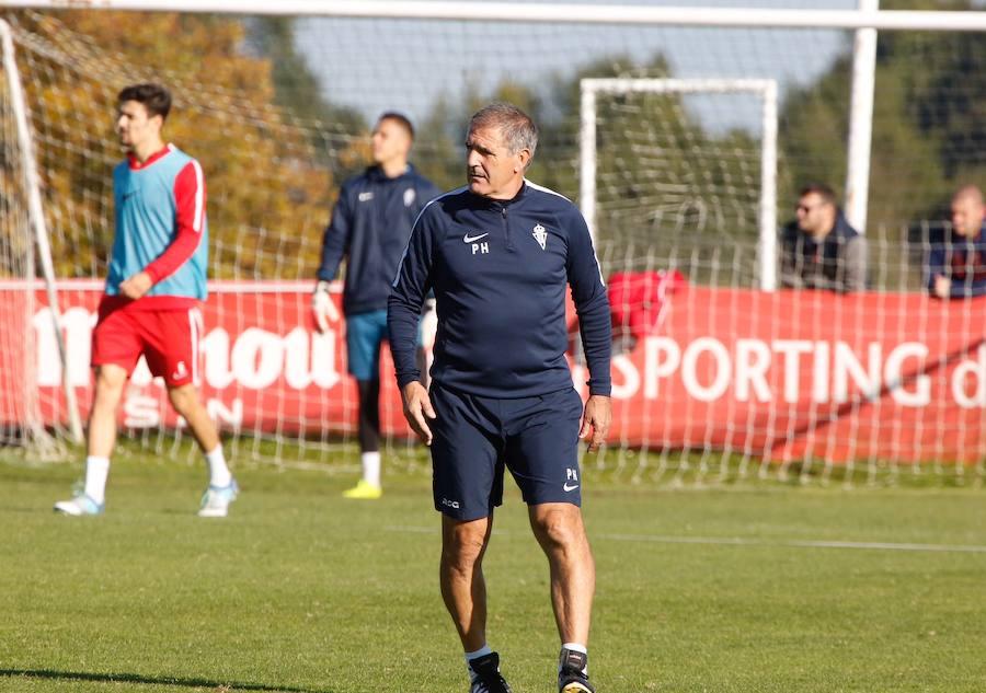 Entrenamiento del Sporting (16-11-17)