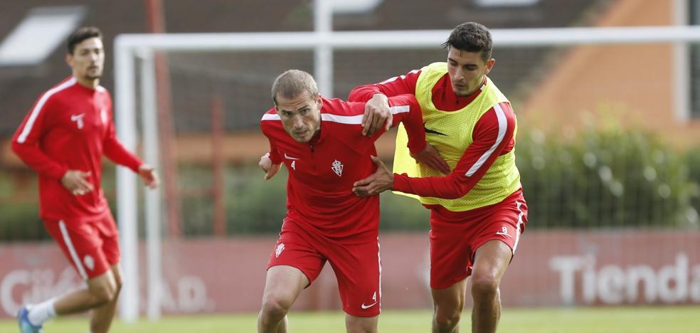 Sporting | Herrera agita el tubo de ensayo