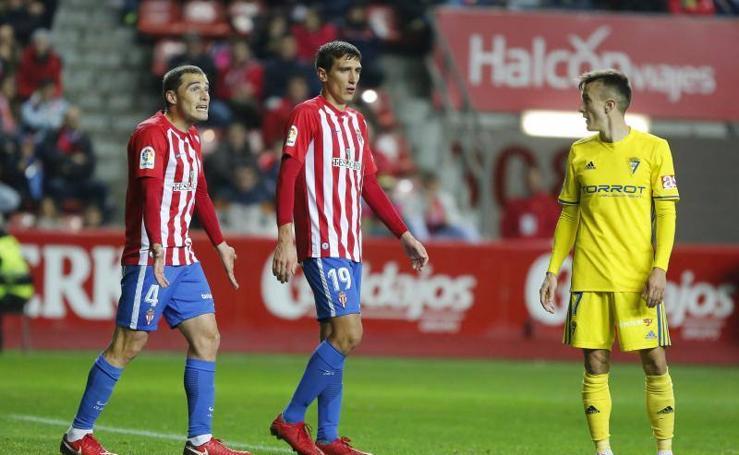Sporting - Cádiz en imágenes (1)
