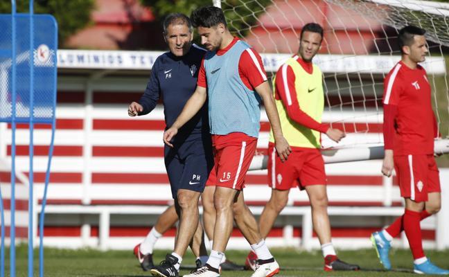Herrera superó baches similares al del Sporting en el Celta y Las Palmas