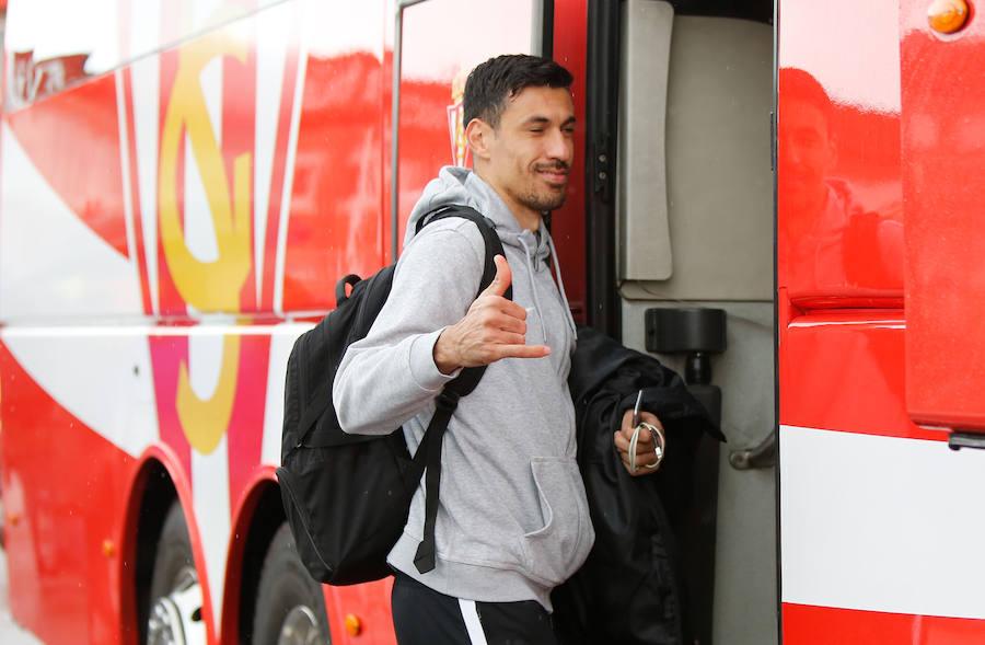 El Sporting prepara el partido ante el Albacete