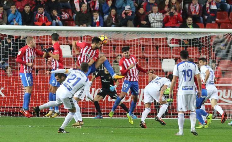 Sporting 0 - 1 Zaragoza