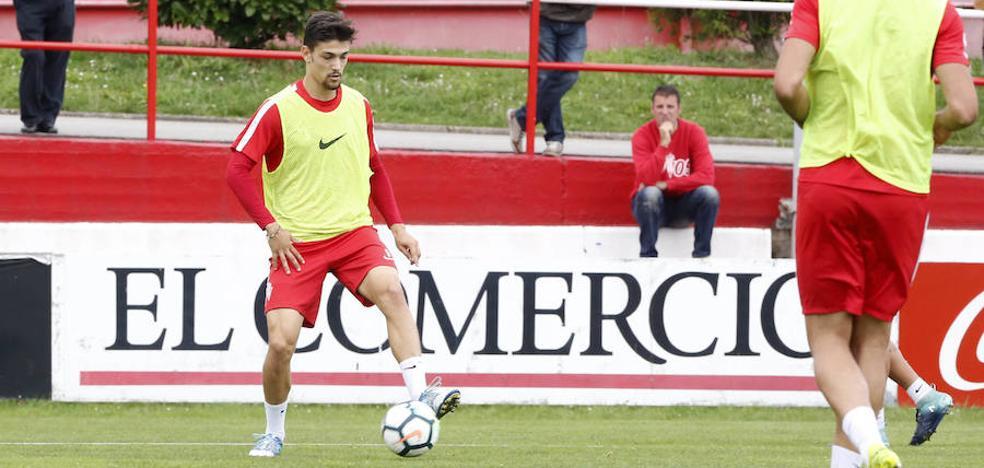 Sporting | Barba se suma a las ausencias en el entrenamiento