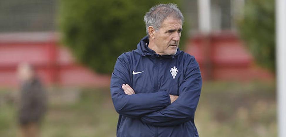 Sporting | Paco Herrera: «Tengo la sensación de que me juego el puesto»
